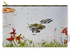 Carry-all Pouch featuring the photograph Just Hanging Out by Cynthia Guinn
