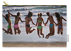 Just Jump Carry-all Pouch by Tammy Espino