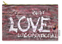 Just Love Unconditional  Carry-all Pouch