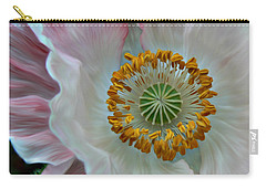 Carry-all Pouch featuring the photograph Just Opened by Barbara St Jean