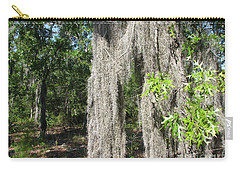 Carry-all Pouch featuring the photograph Just The Backyard by Greg Patzer