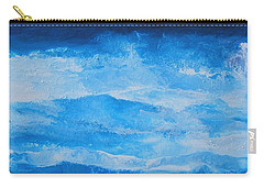 Just The Waves Carry-all Pouch