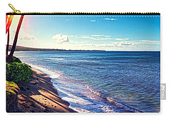 Kaanapali Beach Carry-all Pouch by Lars Lentz
