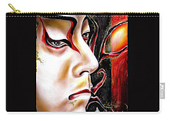 Kabuki Three Carry-all Pouch by Hiroko Sakai