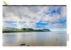Kahaluu Fish Pond Panorama Carry-all Pouch