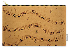 Kamasutra Music Coffee Painting Carry-all Pouch