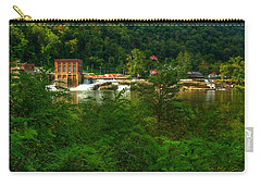 Carry-all Pouch featuring the photograph Kanawha Falls by Dave Files