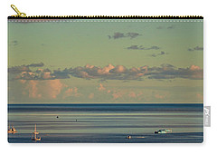 Kaneohe Bay Panorama Mural 4 Of 5 Carry-all Pouch