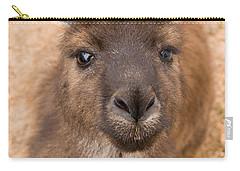 Kangaroo Island Kangaroo Carry-all Pouch by Marie Read