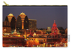 Kansas City Plaza Lights Carry-all Pouch