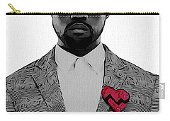Kanye West  Carry-all Pouch by Dan Sproul
