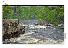 Katahdin And Penobscot River Carry-all Pouch