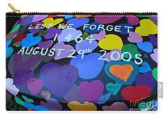 Katrina Casket Memorial Inscription Carry-all Pouch