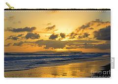Kauai Sunset With Niihau On The Horizon Carry-all Pouch