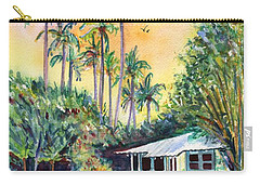 Kauai West Side Cottage Carry-all Pouch by Marionette Taboniar