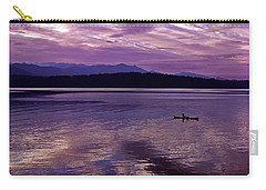 Carry-all Pouch featuring the photograph Kayak On Dabob Bay by Greg Reed