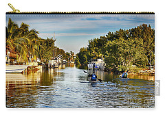 Kayaking The Canals Carry-all Pouch