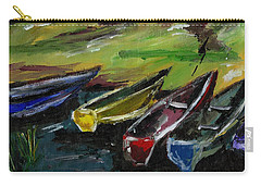 Kazinga Channel Boats Carry-all Pouch
