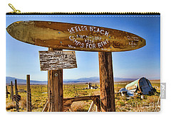 Keeler Beach Camping By Diana Sainz Carry-all Pouch