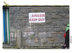 Keep Out Aran Islands Ireland Carry-all Pouch