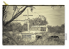 Carry-all Pouch featuring the digital art Keeping Watch by Erika Weber