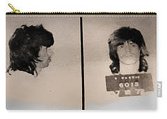 Keith Richards Mugshot - Keith Don't Go Carry-all Pouch