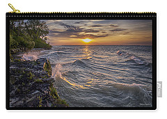 Kelleys Island At Sunset Carry-all Pouch