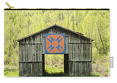 Kentucky Barn Quilt - Happy Hunting Ground Carry-all Pouch