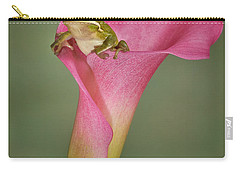 Kermit Peeking Out Carry-all Pouch