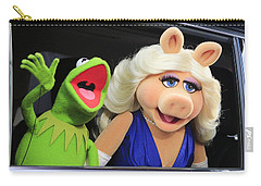 Kermit Takes Miss Piggy To The Movies Carry-all Pouch