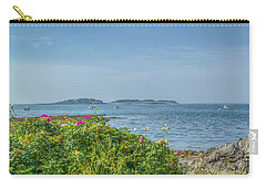 Carry-all Pouch featuring the photograph Kettle Cove by Jane Luxton