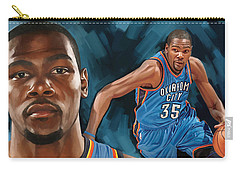 Kevin Durant Artwork Carry-all Pouch