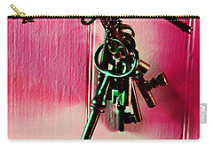 Keyed Carry-all Pouch by Holly Blunkall