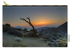 Keys View Sunset Carry-all Pouch by Dave Files