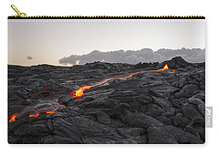 Kilauea Volcano 60 Foot Lava Flow - The Big Island Hawaii Carry-all Pouch