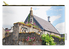 Carry-all Pouch featuring the photograph Kilkenny House by Mary Carol Story