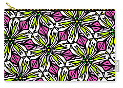 Carry-all Pouch featuring the digital art Kind Of Cali-lily by Elizabeth McTaggart