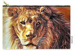 Carry-all Pouch featuring the photograph King by Adam Olsen