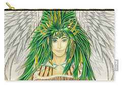 King Crai'riain Portrait Carry-all Pouch by Shawn Dall
