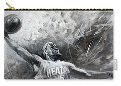 King James Lebron Carry-all Pouch by Ylli Haruni