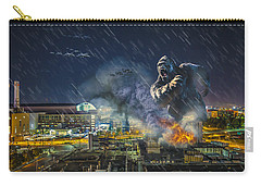 Carry-all Pouch featuring the photograph King Kong By Ford Field by Nicholas  Grunas