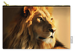 King Lion Of Africa Carry-all Pouch