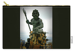 King Neptune Statue Carry-all Pouch