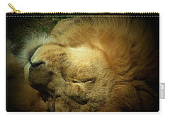 King Of Peace,lion Carry-all Pouch