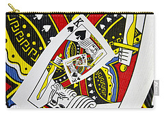 King Of Spades Collage Carry-all Pouch
