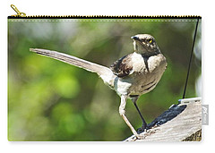 King Of The Feeder Carry-all Pouch by Lizi Beard-Ward
