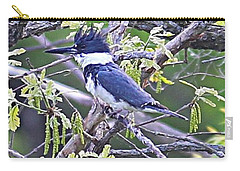 Carry-all Pouch featuring the photograph King Of The Tree by Elizabeth Winter