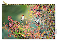 Kingbird Pair Carry-all Pouch