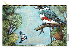 Kingfishers Cove Carry-all Pouch