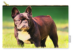 King's Frenchie - French Bulldog Carry-all Pouch